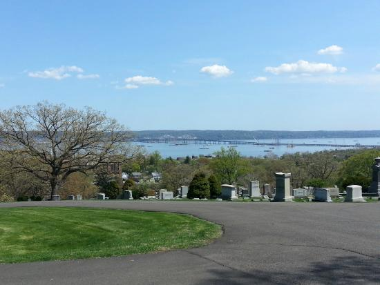 Nyack, NY: View of the Hudson River