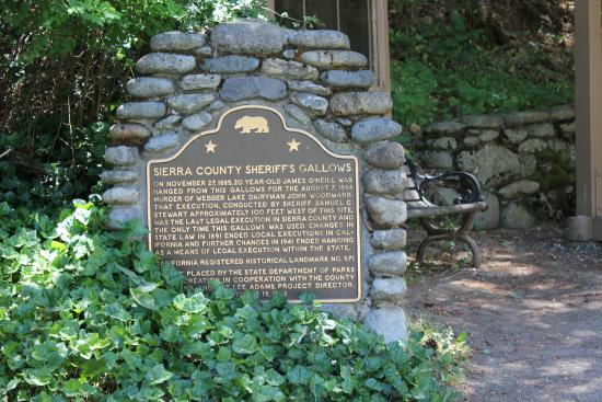 Downieville, Kalifornia: Historic Marker