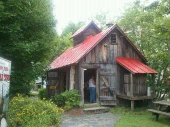 Maple Grove Farms of Vermont : One of the maple syrup buildings on the property