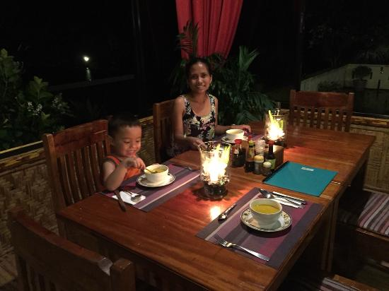 Pintuyan Beach Resort: Dinner