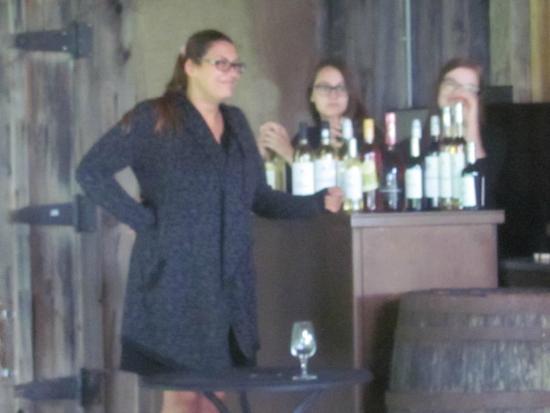 Saint-Armand, Canada : Dégustation avec Lathissa