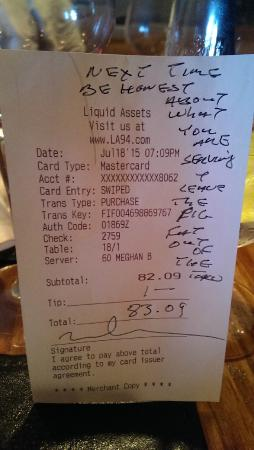 Liquid Assets : Taco bell quality taco