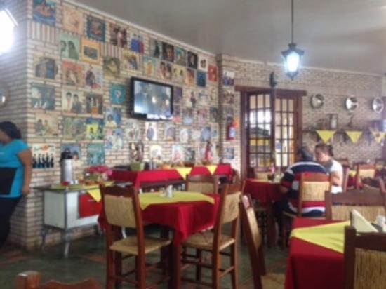 Camapua, MS: Sala de almoço