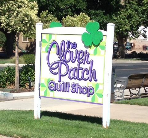 Santa Clara, UT: Clover Patch Street Sign