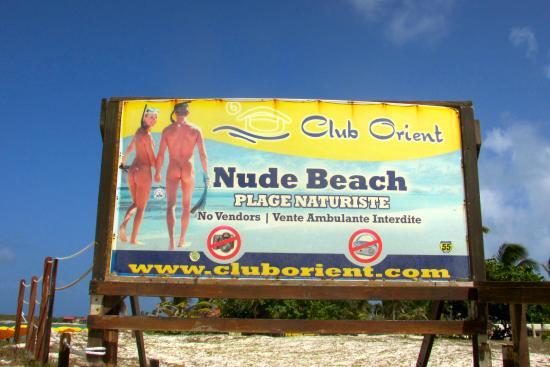 Orient Bay, St. Maarten: Nude Beach