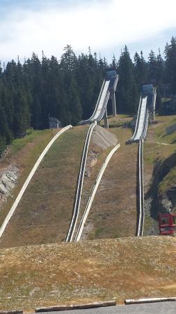 Whistler Olympic Park: Eeek!