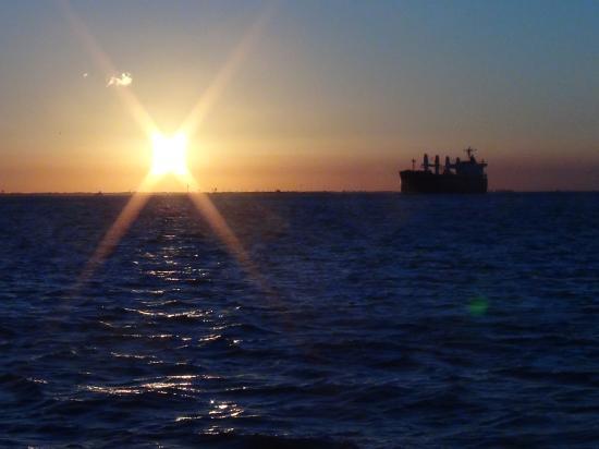 Galveston - Port Bolivar Ferry: Another sunset pic!