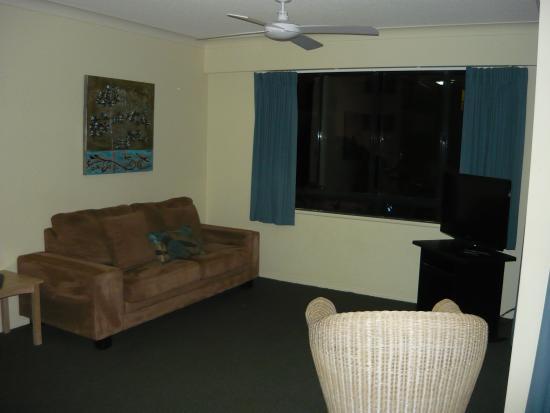 Belaire Place Motel Apartments : Lounge area
