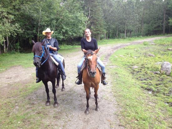 Equitation Orford: Great day horseback riding