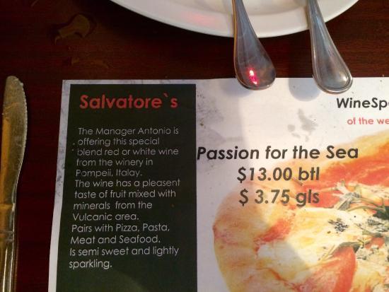 Salvatore's Pizzeria Photo