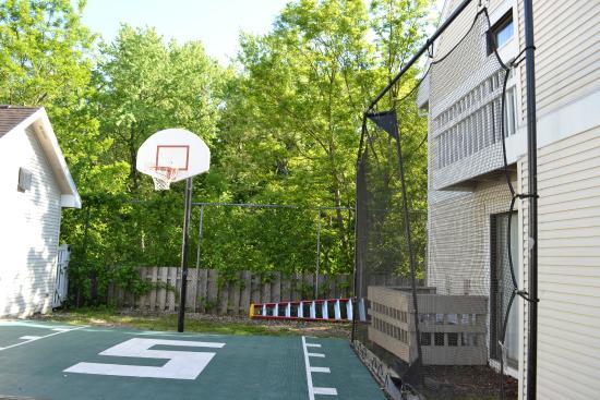 Gatehouse Suites East Lansing: Basketball Court