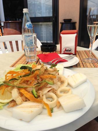 Osteria Fra Goloso: frittura di pesce