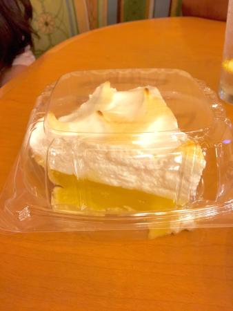 Elmer's Restaurant - Grants Pass: Lemon Meringue Pie! What a treat. And it's not even thanksgiving. :)