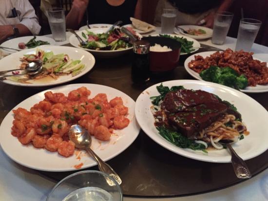 Panda Inn Restaurant: Lots of great dishes