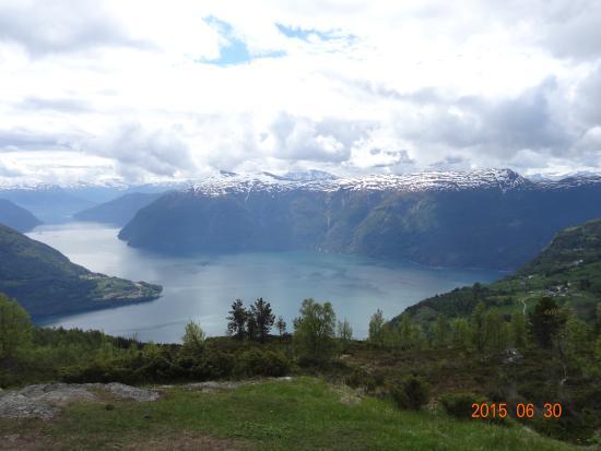 ハフスロ, ノルウェー, 途中の農場から