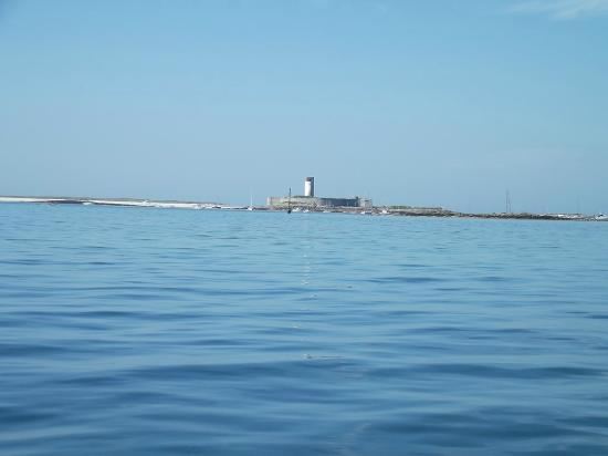 Glenan Islands : Fort cigogne