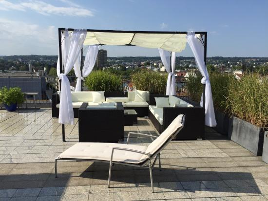 ausblick dachterrasse picture of viva sky konstanz tripadvisor. Black Bedroom Furniture Sets. Home Design Ideas