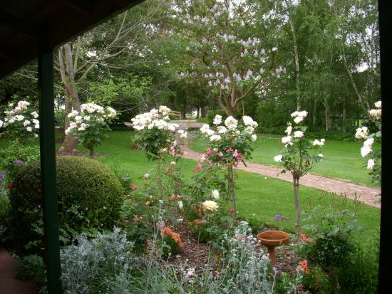 Springbank Bed & Breakfast : A VIEW FROM THE HOMESTEAD VERANDAH
