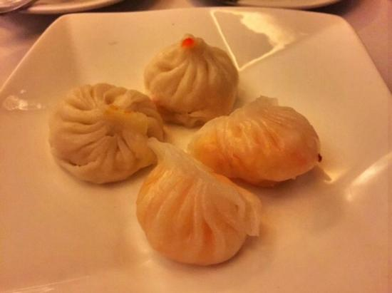 Choi's: Steamed Pork and Crab Meat Dumplings and Steamed Prawn Dumplings
