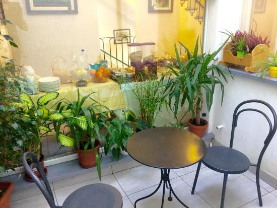 BuonHotel: giardino