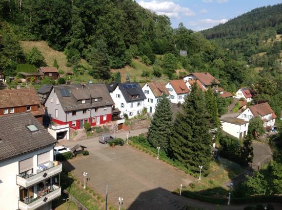 Wellness und Tagungshotel Krahenbad : Nice view from balcony