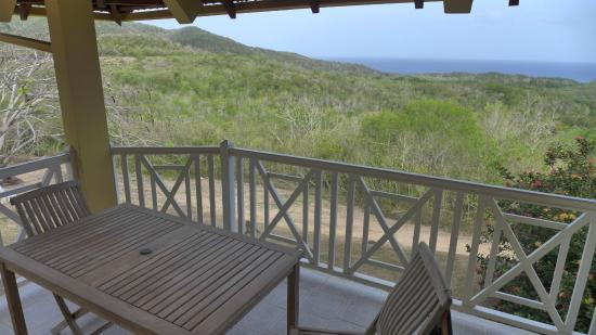 Domaine de l'Anse Ramier: balcon canelle