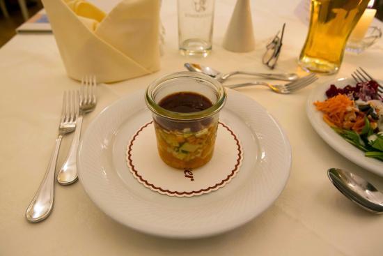 Hotel garni Almesberger: Gemüsesulz