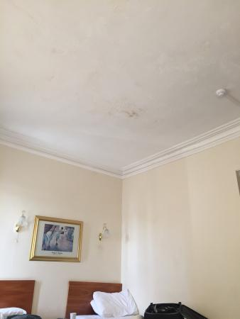 Bourne Hall Hotel: Mould on the ceiling