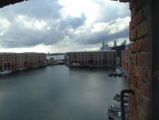 view on the docks