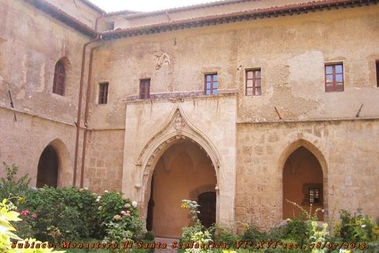 Monastero di Santa Scolastica: Subiaco: Convento di Santa Scolastica VI°-XVI°sec.
