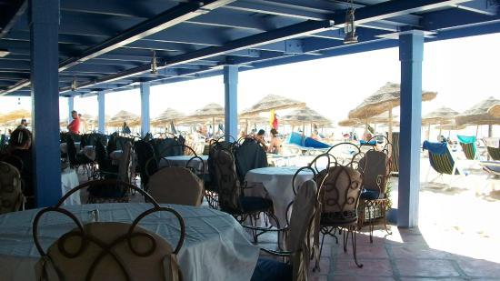 Samira Club: Ресторан на пляже
