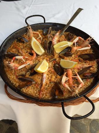 Restaurante Cristina : Paella