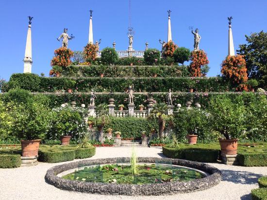Tolle Gartenarchitektur - Picture Of Palazzo Borromeo, Isola Bella