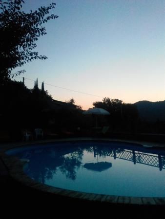 Agriturismo ColleParadiso: L'alba...bellissima!