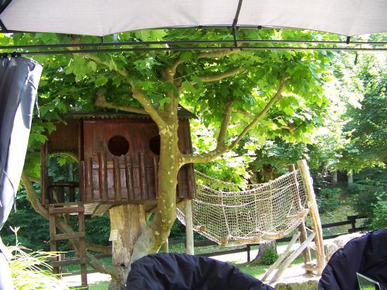 Malvezie, فرنسا: boomhut voor de kinderen