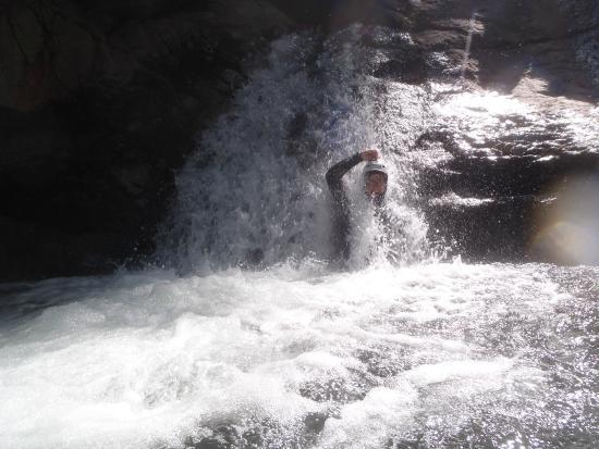 Malvezie, فرنسا: canyoning, een van de activiteiten