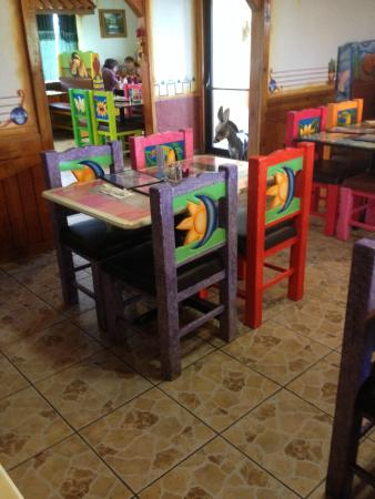 Las Brisas Authentic Mexican Restaurant Hand Painted Furniture Make For Festive Atmosphere