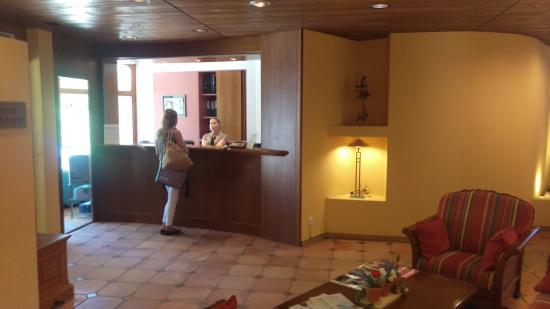 Hostellerie Les Chevreuils: Reception