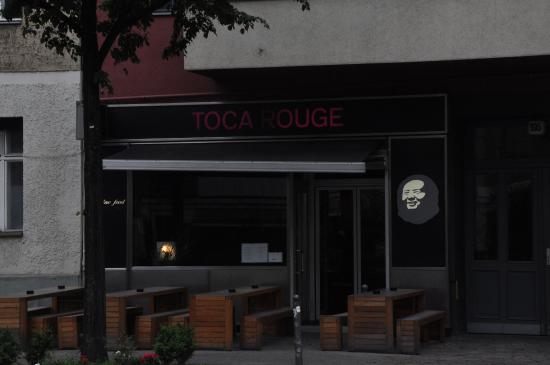 Eingang zum Toca rouge
