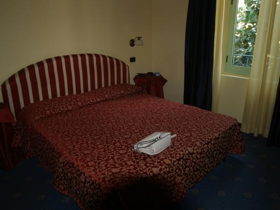 Hotel Da Vinci: bed