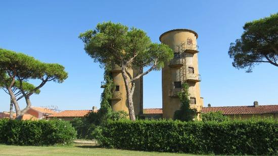 La Fattoria di Tirrenia Country Resort: View from room