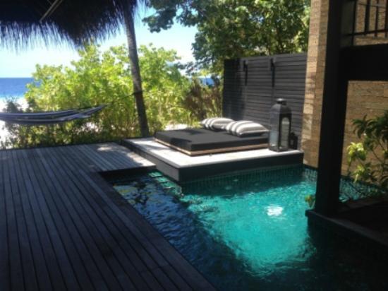 Outrigger Konotta Maldives Resort Beach Pool Villa Private
