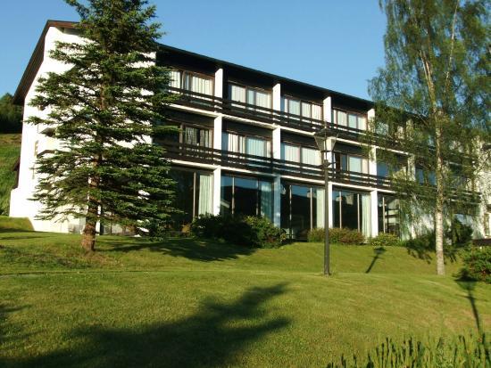 Morgedal, Noruega: Bakerste/øverste del av hotellet