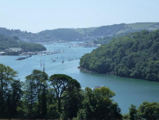 Devon, UK: Dartmouth - Greenway circular walk