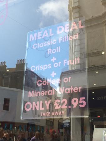 The 1066 Bakery: The meal deal