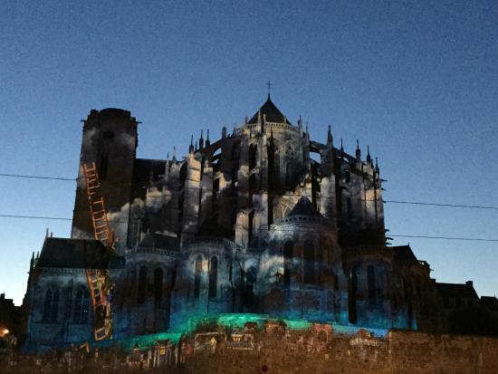 La Nuit des Chimeres : Cathédrale Saint Julien-Le Mans