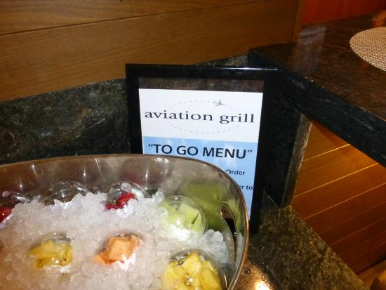 Aviation Grill: Sign