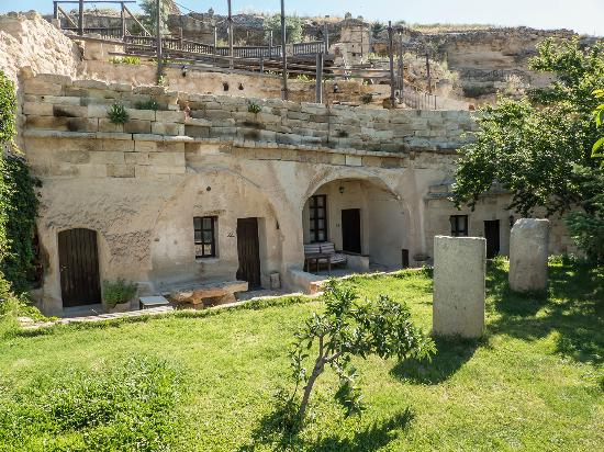 Urgup Evi Guest House: exterior de las habitaciones