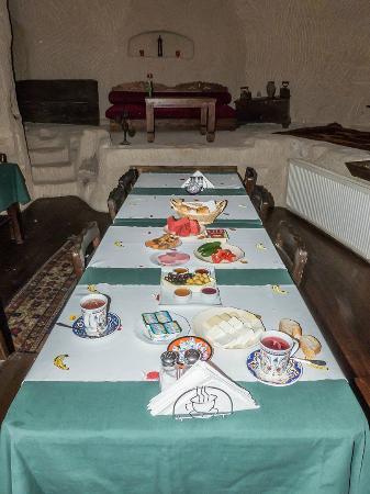 Urgup Evi Guest House: desayuno para dos