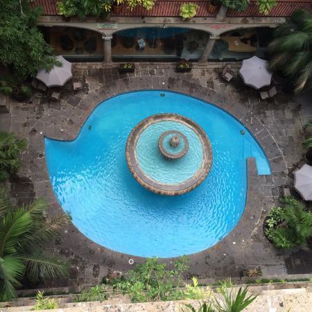Posada Guadalajara Hotel: La alberca el ojo